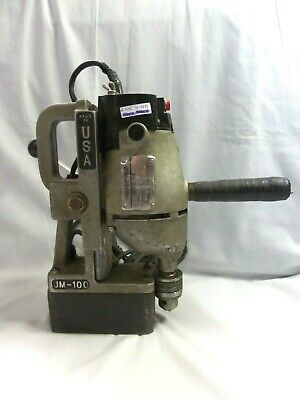 Jancy JM 100 Slugger Magnetic Drill Press Made in the U.S.A ⭐Fully Working⭐