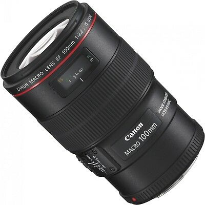 NEW Canon EF 100mm f/2.8L IS USM (USA Warranty)