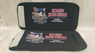 Rare Sturgis Sd 2 Lot One Eyed Jacks Saloon Beer Can Koozie Cooler Insulator