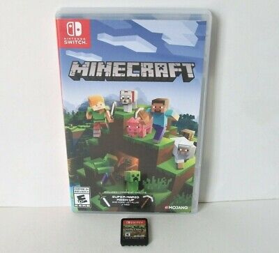 Minecraft Nintendo Switch Edition Cartridge Only Kids Game Mojang ~Combine Games