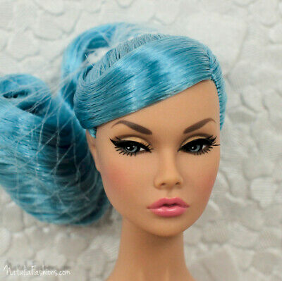 Last One New Blue Haired Head Only Looks A Plenty Poppy Parker Doll