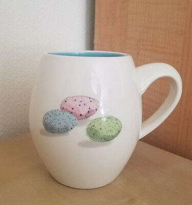 NEW RAE DUNN by MAGENTA EASTER EGGS great things happen from the inside MUG
