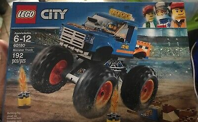 LEGO City Monster Truck Building Kit, 192 Pieces (#60180)