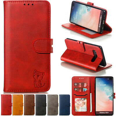 1714ae54a For Samsung Galaxy S10 S9 8 Plus Flip Magnetic Painted Leather Wallet Case  Cover
