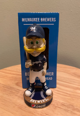 2019 Pepsi Mini Bernie Brewer (Milwaukee Brewers) Bobblehead New