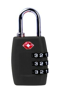 2x TSA Approved Combination Padlock Lock Luggage Suitcase Security Code Travel