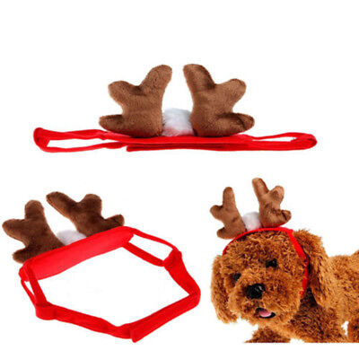 Christmas Cute Antlers Pet Dog Doggy Cat Fashion Funny Hat Puppy Cap Accessories