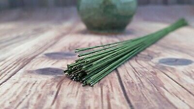 Cake Wire GREEN 22 Gauge 50PK - Cake Decorating, Floral Wire, ChappCakes Decor