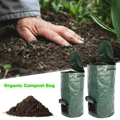 Organic Waste Kitchen Planting Compost Bag PE Strong Cloth Planter Vegetable Gro