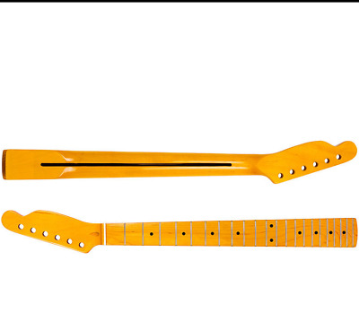 Kmise Electric Guitar Neck for TL Parts Replacement Maple Wood 22 Fret