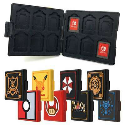 For Nintendo Switch Game Card Case Holder Storage Box Carry Protector Cover Case