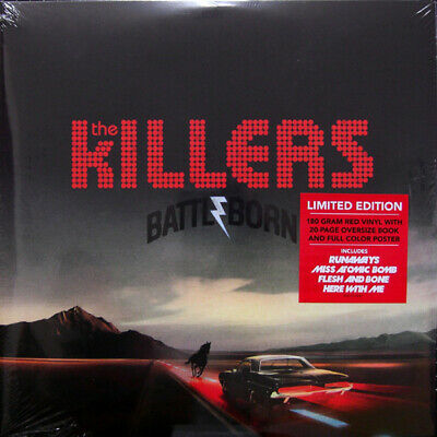 |1339643|  The Killers - Battle Born (Limited Red) [2xLP Vinyle] |Neuf|