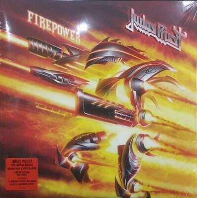 |1339643|  Judas Priest - Firepower (Limited Edition Red) [2xLP Vinyle] |Neuf|