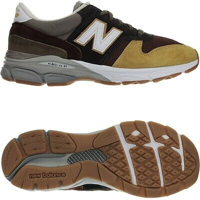 NEW BALANCE 770.9 Made in UK gelb braun Herren Wildleder low