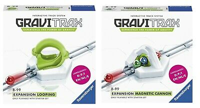 Ravensburger GRAVITRAX EXPANSION LOOPING + MAGNETIC CANNON - GraviTrax Expansion