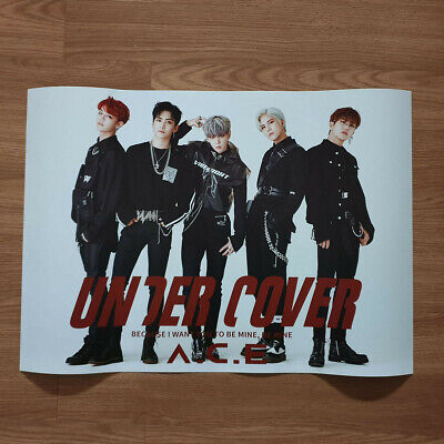 [Poster Only] A.C.E. 2nd Mini Album Under Cover Ace Hard Case Tube Packing Kpop