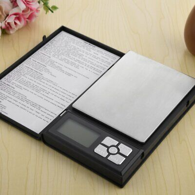 High Precision Digital Scale Notebook Shape Electronic Counting Jewelry Scales