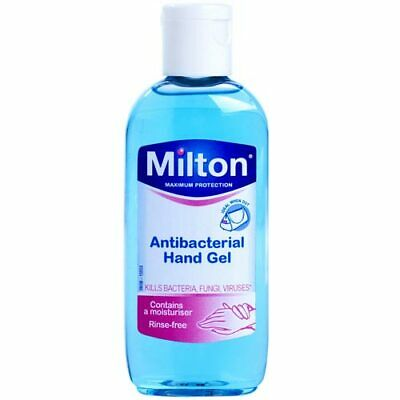 Milton Antibacterial Hand Gel 100ml baby travel 4 PACK BRAND NEW CLEARANCE