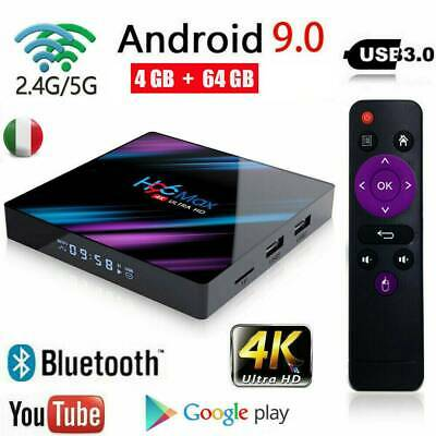 2019 TV BOX H96 MAX RK3318 4GB+64GB ANDROID 9.0 4K TV BOX WI-FI IPTV Quad Core