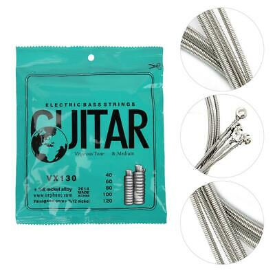 Electric Bass 5-String Strings Nickel Alloy Guitar Strings Instrument Parts