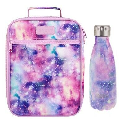Insulated Sachi Lunch Tote Bag with Drink Bottle 350ml Oasis Carry School GALAXY