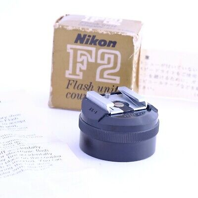 """Rare Boxed Vintage"" Nikon AS-1 Hot Shoe Adapter Shipping from Japan"