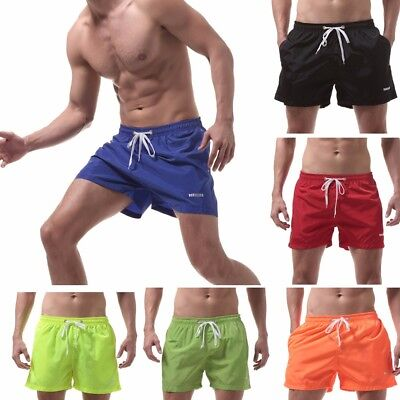 Men's Shorts Swim Trunks Quick Dry Beach Surfing Running Swimming Watershort CA