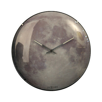 Wall Clock Glow in the Full Moon Round Dome Luminous