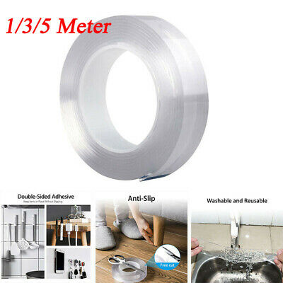 Multifunctional Nano-Tech Adhesive Tape Double-sided Traceless Gel Grip Sticker