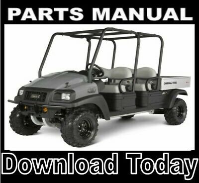 2009 2010 2011 Club Car 295 SE XRT 1550 SE Parts Manual