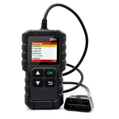 OBD2 EOBD Car Fault Code Reader Engine Diagnostic Scanner Reset Tool LAUNCH 3001