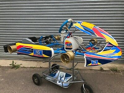 TONY KART CHASSIS - £400 00 | PicClick UK