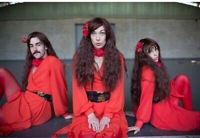The Most Wuthering Heights Day Ever Kate Bush Dance Costume WIG