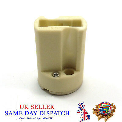 Ceramic G9 Base Lamp Holder Socket LED Halogen Down Light Bulb