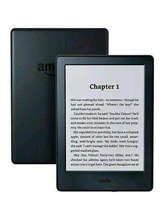 Kindle E-Reader, 6 Inch Glare Free Touchscreen Display Black. Brand new in box.