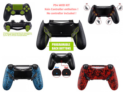 Modding Kit para PS4 Scuf Elite Controlador Renovación 4 Programable Paletas DIY