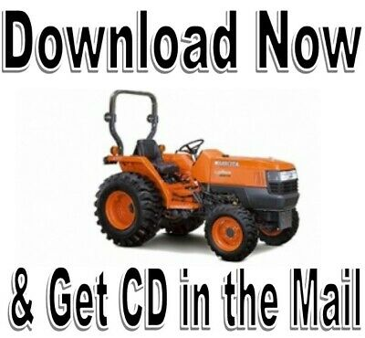 kubota b2301 b2601 tractor workshop service & operators manual