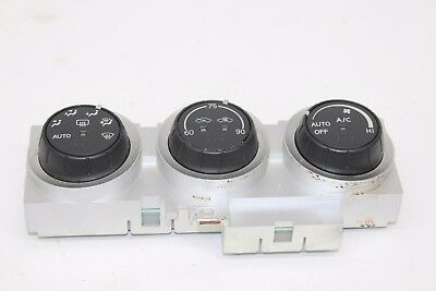 04 2004 NISSAN ARMADA HEATER AC A//C CLIMATE CONTROL PANEL FRONT 27500-7S010