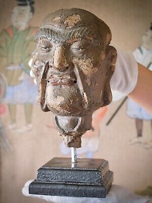RARE Chinese Japanese Head of Arhat (Luohan / Lohan) - INFORMATION SOON