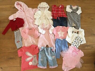 Baby Girls Clothes Bundle Age: Upto 1 Month Next M&S Vertbaudet Nutmeg