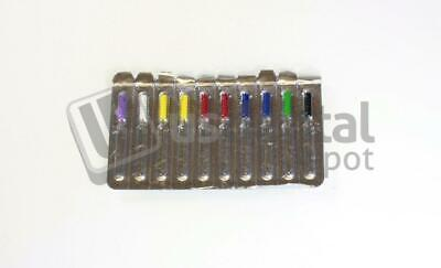 SHARK Barbed Broaches 21mm #0-6 assorted 10/Bx -Blister pack - ( pulpotom 115778
