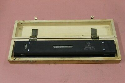 """VIS Master Precision Machinist Level 12"""" L 0.0005/10In with wood case"""