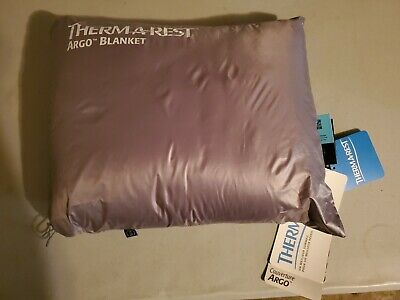 Therm-a-Rest Argo Camping Blanket in Grey Thermarest