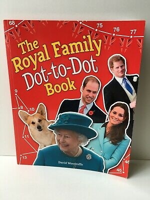 The Royal Family Dot-to-Dot Book by David Woodroffe (Paperback, 2015)