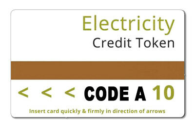 Electricity Credit Token Card 10