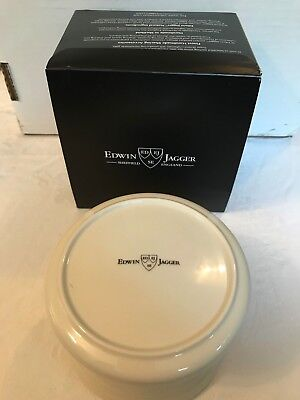Edwin Jagger Porcelain Ivory Shaving Bowl With Lid