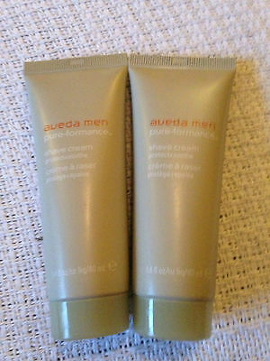 Aveda Men Pure-Formance Shave Cream Travel Size Duo 2 x 40ml
