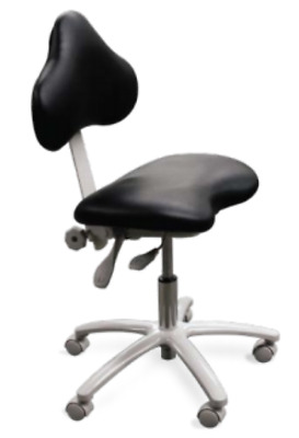 New Galaxy Model 2015 Ergo Doctor's Stool with Special Cut Out Seat