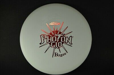 Buzzz Photon Glo 177g Rare Firm Chalky OOP New Discraft *PRIME* Disc Golf Rare