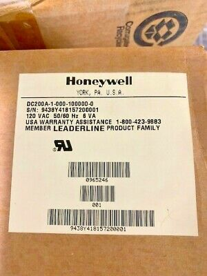 Honeywell Dc200A-1-000-100000-0 Temperature Controller